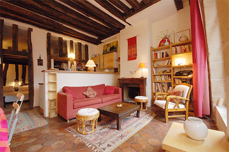 ROSE40 : Marais, jewesh district apartment paris